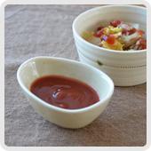 食菜酢で簡単ケチャップ
