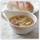 野菜具だくさんスープ