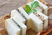 茄子とツナの絹粕パテサンドイメージ