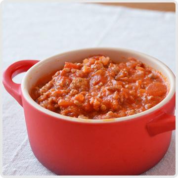 ミートソースin食菜酢イメージ