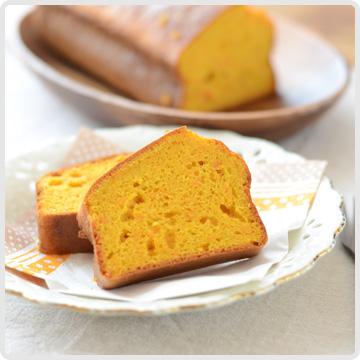 人参とマーマレードのケーキイメージ