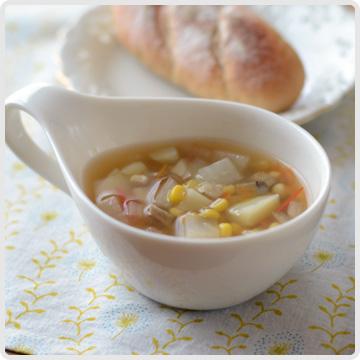 野菜具だくさんスープイメージ
