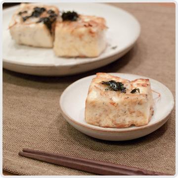豆腐のしらす焼きイメージ