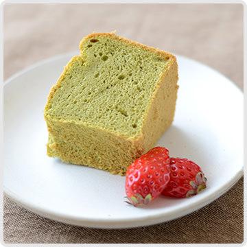 桑茶の米粉シフォンケーキイメージ