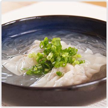 水餃子のスープイメージ