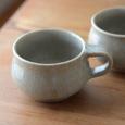 灰釉マグカップ(単品)