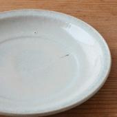 灰釉7寸皿(単品)詳細