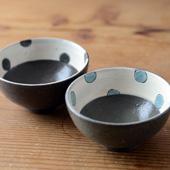 黒加彩飯碗(単品)詳細