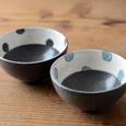 黒加彩飯碗(単品)