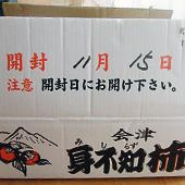 高波さんの会津みしらず柿詳細